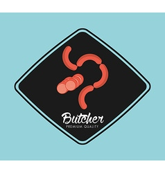 butcher product vector image vector image