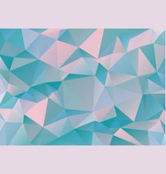 polygonal geometric pattern vector image vector image