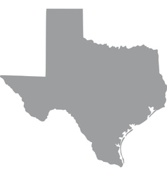 US state of Texas vector image vector image