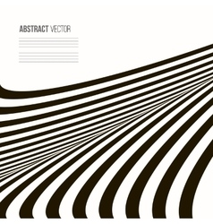 Wavy background Abstract stripe vector image