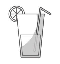 Fruit juice icon image vector