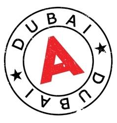Dubai stamp rubber grunge vector