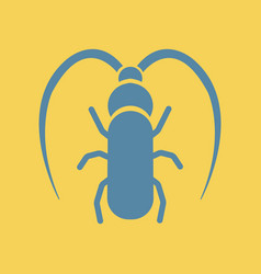 Beetle barbel vector