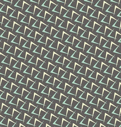 1950s arrow pattern background vector