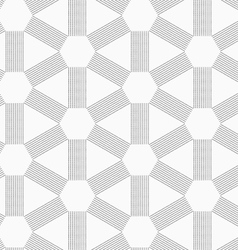 Gray dotted lines forming triangles and hexagons vector