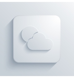 Modern weather light icon vector