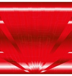 Abstract business or technology red background wit vector image vector image