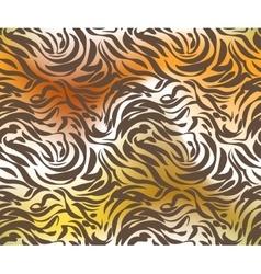 Abstract tiger skin vector image