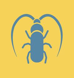 Beetle barbel vector