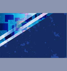 blue square background vector image vector image