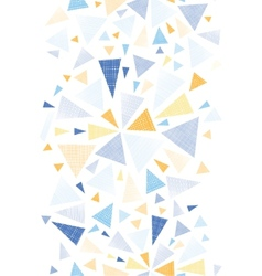 Colorful textured arrows triangles vertical vector image