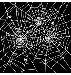 Halloween web background CCCVI vector image