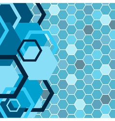 stylish blue banner vector image vector image