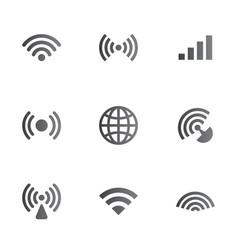 Wireless network symbol object set vector