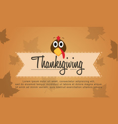 Background thanksgiving style collection stock vector