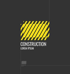 Logo construction elements for cards poster and vector