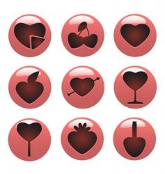 love concept icon vector image vector image