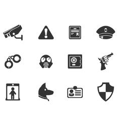 Security symbols vector image