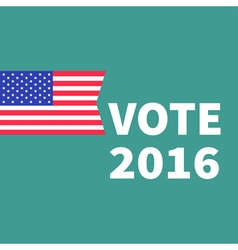 Voting concept president election day 2016 vector