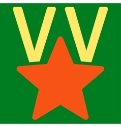 Victory icon from competition  success bicolor vector