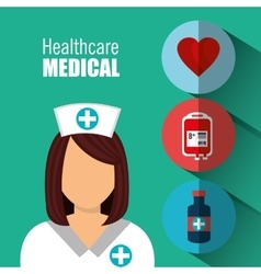 Medical heatlhcare design vector