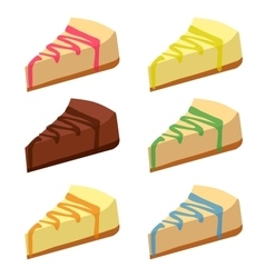 Cheesecakes vector