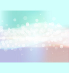 Abstract colorful background with blur bokeh light vector