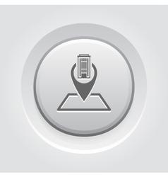 Business location icon vector