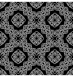 celtic seamless repeated vector image vector image