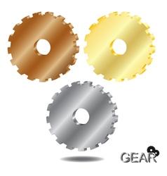 gear 3D vector image