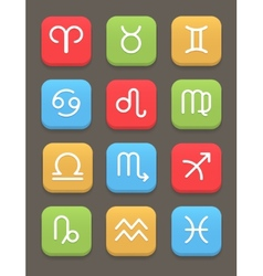 Zodiac icon for web or mobile vector