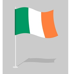 Flag of ireland official national character of vector