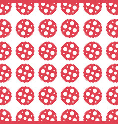 Gears machine pattern isolated icon vector