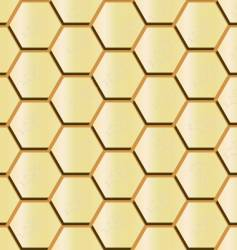 honeycomb seamless vector image vector image