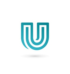 Letter u logo icon design template elements vector