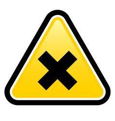 Harmful Sign vector image