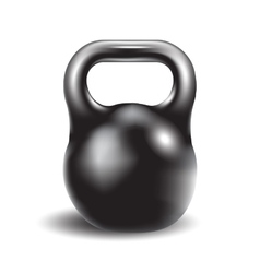 Iron weight for athletic exerciseseps 10 vector