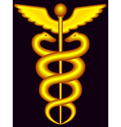 Caduceus vector image