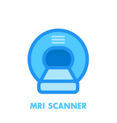 mri scanner icon vector image