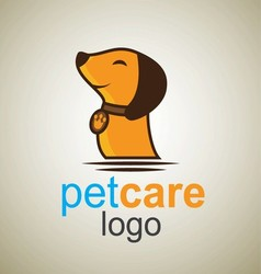 Pet care logo 4 vector