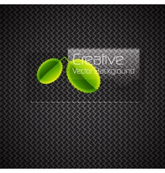 Modern leaves vector