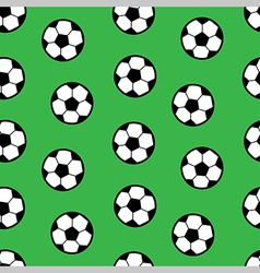 Football seamless pattern vector
