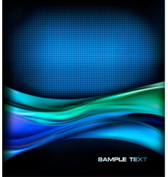 Business elegant blue abstract background vector image vector image