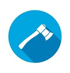 Tool icon Axe hache instrument Work job vector image vector image