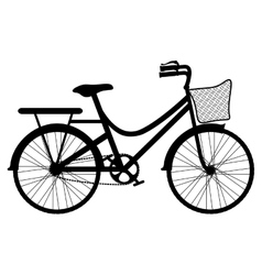 Bicycle vehicle icon vector