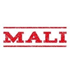 Mali watermark stamp vector