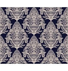 Wallpaper baroque seamless pattern vector