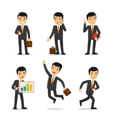 Businessman isolated vector image vector image