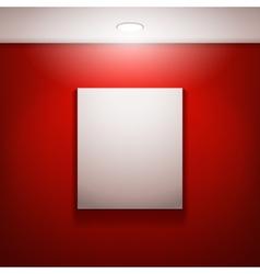 Gallery frames vector