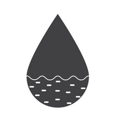 Hydrology icon vector